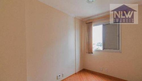 Apartamento Com 2 Dormitórios À Venda, 62 M² Por R$ 330.000,00 - Vila Ema - São Paulo/sp - Ap3653