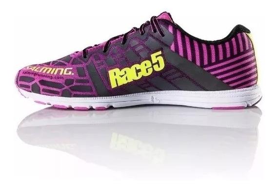 Zapatilla Salming Race 5 Mujer Running Liviana