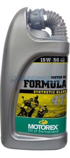 Aceite Motorex 15w50 Formula Sintetico