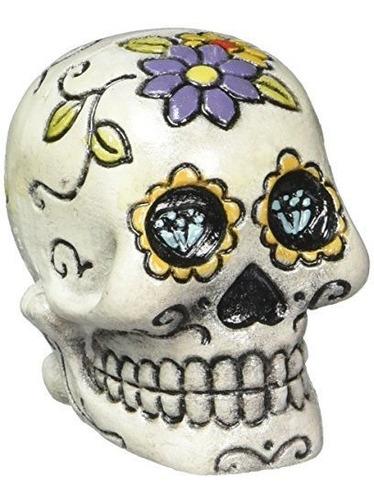 Pen Plax Rr1911 Sugar Skull Aquarium Ornamento Blanco