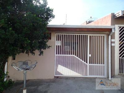 Casa Com 2 Dormitórios Para Alugar, 75 M² - Jardim Interlagos - Hortolândia/sp - Ca6244