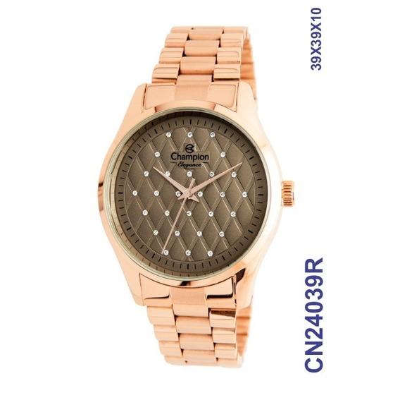 Relógio Champion Rosê Feminino Cn24039r