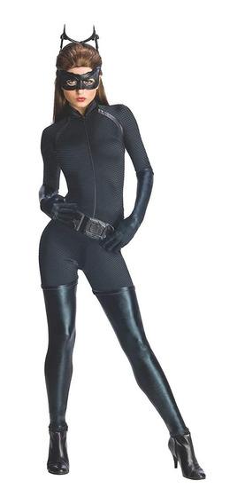 Disfraz Catwoman Gatubela Dark Knight Batman Mujer Ch M G