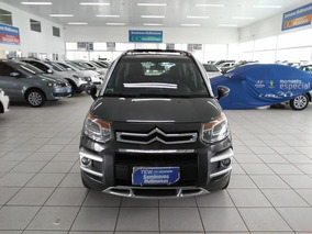 Citroën Aircross 1.6 16v Exclusive Atacama Flex 5p Cinza