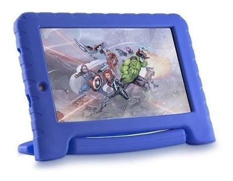 Tablet Infantil 16gb Capa Emborrachada Dos Vingadores Wifi