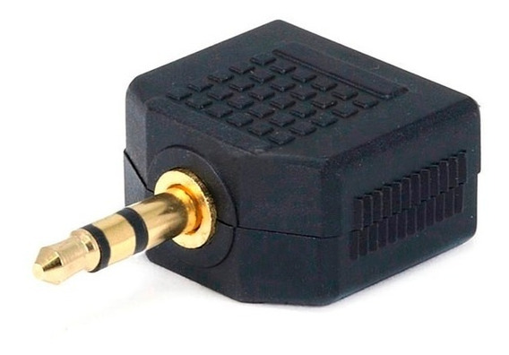 Conector Monoprice P2-p2 Stereo Adaptador Áudio Splitter