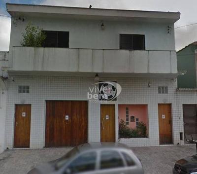 Sobrado Comercial À Venda, Vila Regente Feijó, São Paulo. - So0506