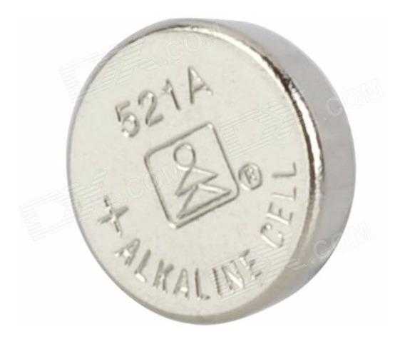 Bateria Tipo Botão (pilha) 379a/521a /cx63/c30sw Ag0 Cartela