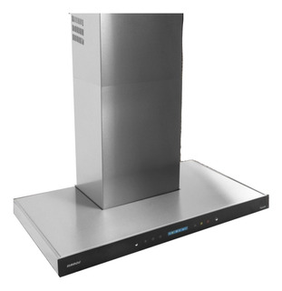 Extractor purificador cocina Llanos Touch Premium ac. inox. isla 902mm x 70mm x 600mm acero 220V