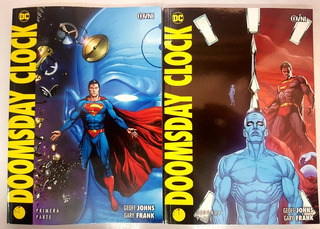 Doomsday Clock - Parte 1 Y 2 - Completo - Ovni Press - Dc