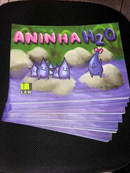 Livro Infantil Aninha H20