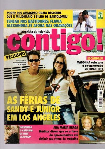Revista Contigo Sandy E Junior Agosto De 2001 (1760)