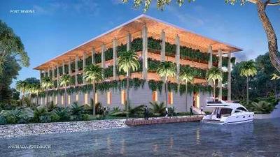 Oficinas En Venta En Puerto Cancun Con Muelle