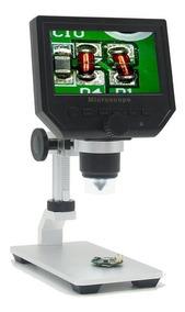 Microscopio Com Tela Lcd 600x Inspecao Solda Smd Celular