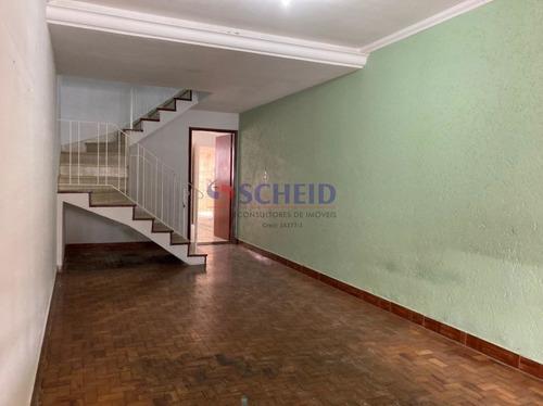 Imagem 1 de 15 de Sobrado 2 Dorms Sala Ampla 1 Vaga, Quintal Com Edicula. - Mr75832
