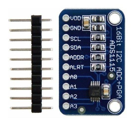 Ads1115 Conversor Analogico Digital 16 Bit I2c Adc Arduino