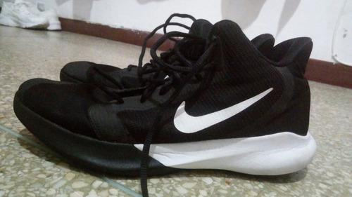 Imagen 1 de 3 de Championes De Basketball Nike Excelente Estado 1 Mes De Uso.