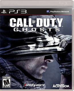 Call Of Duty Ghosts Juego Ps3 Original Fisico Sellado Nuevo