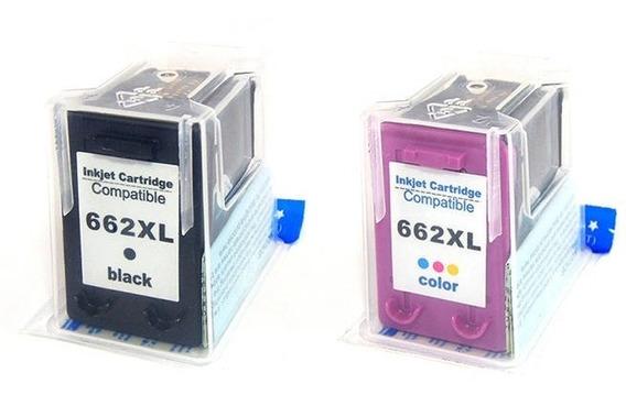 Cartuchos Tinta Compatível Microjet Substituição Para 662 Xl
