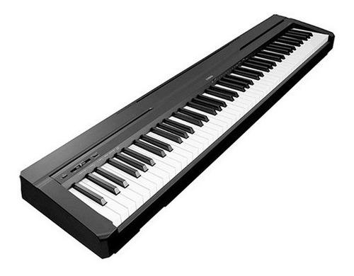 Piano Digital Negro P-45b Sin Atril (con Detalle) Yamaha