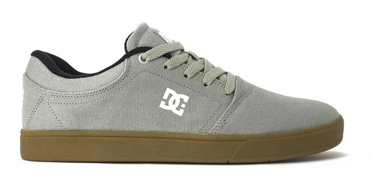 Tenis Dc Shoes Crisis Tx Grey/gum Original Frete Gratis