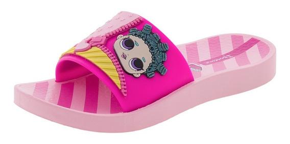Chinelo Infantil Feminino Slide Ipanema - 26326 Rosa