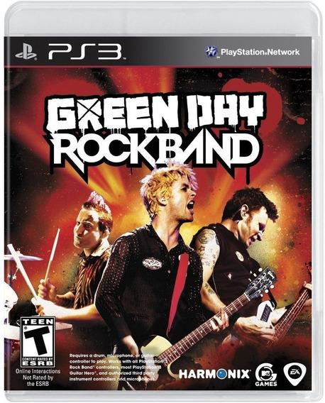 Green Day Rock Band - Ps3 Midia Fisica - A Pronta Entrega