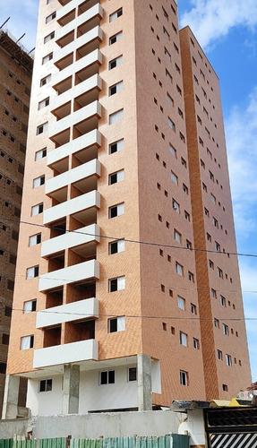 Imagem 1 de 14 de Am147 Apartamento 2 Dormitórios- 350m Praia- Valor Investid