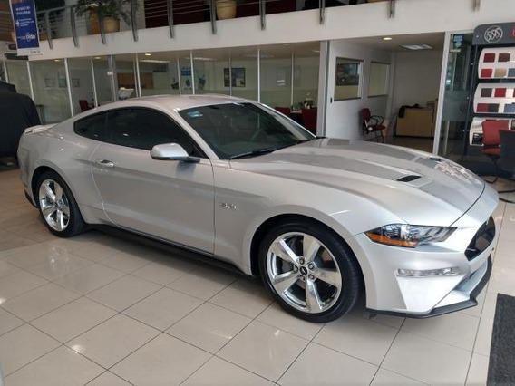 Ford Mustang Gt Premium Fastback 2018 Plata Estelar