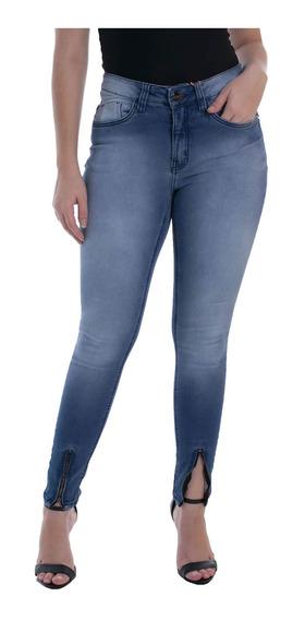 Calça Jeans Osmoze Mid Rise Skinny 23093 Un Azul
