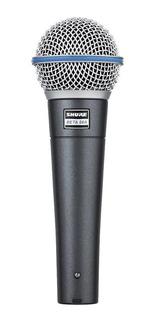 Micrófono Shure Beta 58A dinámico supercardioide negro
