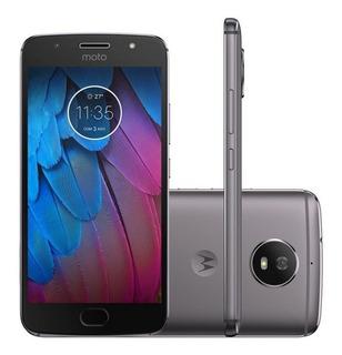 Motorola G5s Xt1792 32gb Platinum, Câm 16mp (vitrine)
