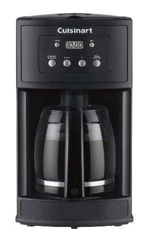 Cuisinart Dcc-500 12-cup Cafetera Programable, Negro