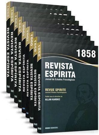 Coleção Completa Revista Espirita - 1858 À 1869 - Mediunika