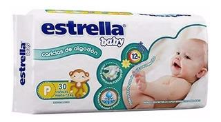 Estrella Baby Pañal Pequeño X 30 X 3 Unidades