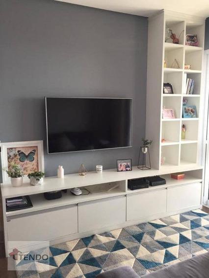Apartamento 70 M² - 2 Dormitórios - 1 Suíte - Independência - São Bernardo Do Campo/sp - Ap0924