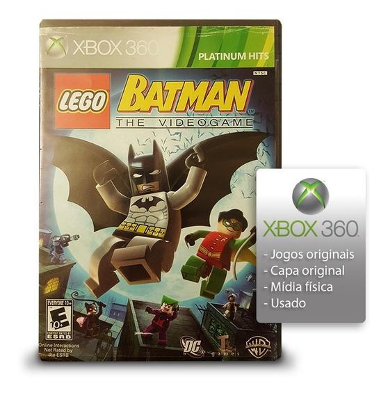 Batman Lego Xbox 360 Mídia Física Original