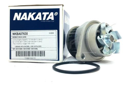 Imagem 1 de 4 de Bomba D'água Nakata Volkswagen Gol G5 1.0 8v Ea111 2012