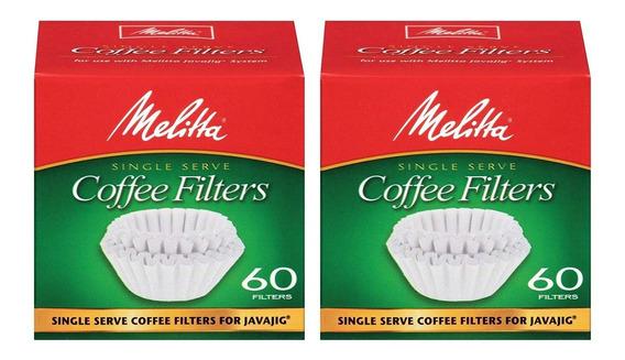 Para M/áquinas de Caf/é y Conos de Caf/é papel de filtro de caf/é 100/% natural Caja de filtros de caf/é de Papel 2 Sets Filtros de Caf/é Desechables Marr/ón 80 hojas de papel 2 Tazas // 4 Tazas