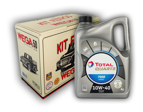 Kit Filtros + Aceite Para Vw Voyage 1.6 8v