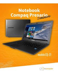 Notebook Compaq Presario Cq-23