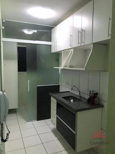 Imagem 1 de 21 de Apartamento Com 2 Dormitórios, 53 M² - Venda Por R$ 180.000,00 Ou Aluguel Por R$ 1.000,00/mês - Catharina Zanaga - Americana/sp - Ap1218