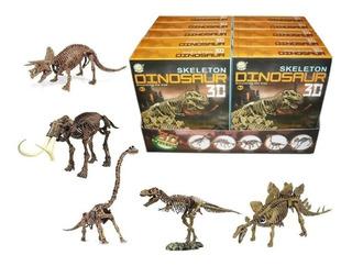Kit Para Armar Esqueleto Dinosaurios 3d Jm-270 Tv Edu Full