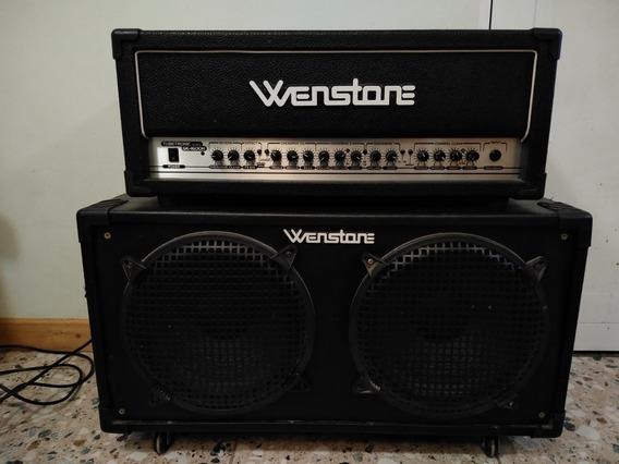 Wenstone Ge-160h Más Caja 2x12 Con Celestion