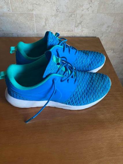 Zapatillas Nike Roshe Flyknit, Muy Poco Uso