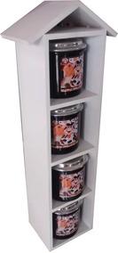 Kit Cozinha N34 Barato Kit Cond Casa Vertical C4 Potes Alum