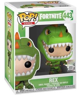 Funko Pop 443 Rex - Fortnite