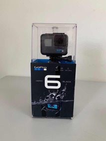 Câmera Gopro 6 Hero Black Seme Nova Sem Uso