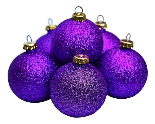 Esferas De Navidad Decoración Árbol Navideño Plástico