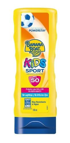 Banana Boat Sport Kids F50 Emulsión 180ml Magistral Lacroze